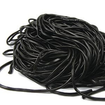 Black Licorice Laces, 2LBS by Sincerely Nuts