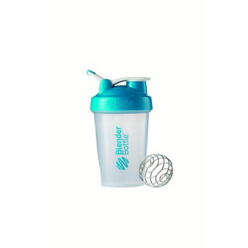 BlenderBottle 20 oz Classic with Loop Clear-Aqua 1 Cup