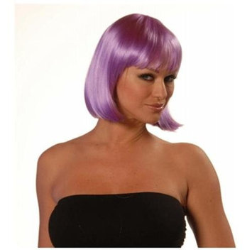 Wicked Wigs 812223010779 Charm Purple Wig
