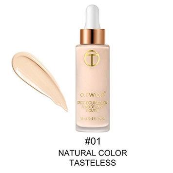 Face Eye Foundation Concealer Highlight Contour Liquid Stick Makeup Natrual Crea