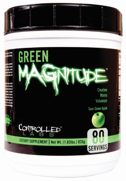 Controlled Labs Green MAGnitude Sour Green Apple - 80 Servings