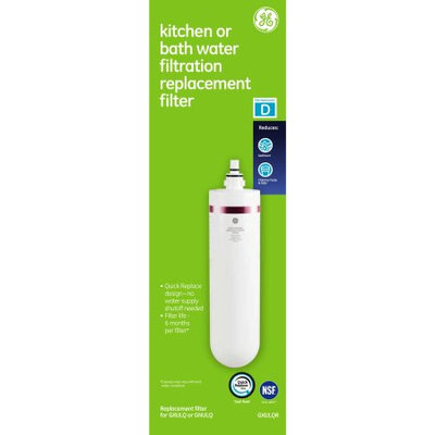 General Electric GE Kitchen and Bath Replacement Filter
