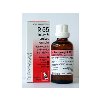 Injury and Bruises Formula R55 50 ml by Dr. Reckeweg