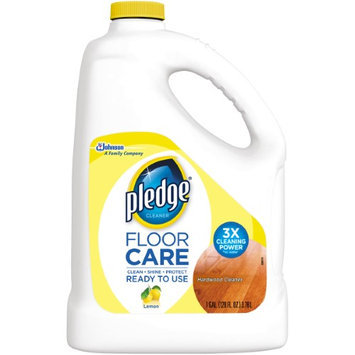 Pledge Cleaning Products 128 oz. Commercial Line Wood Floor Cleaner (4-Pack) 70734
