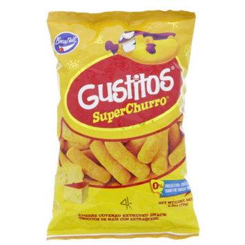 Boca Deli Gustitos Cheese Puffs 2.5oz - Trocitos de maiz con extraqueso (Pack of 12)
