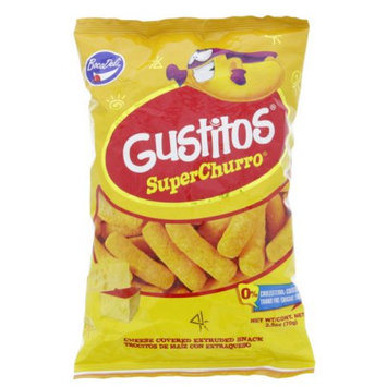 Boca Deli Gustitos Cheese Puffs 2.5oz - Trocitos de maiz con extraqueso (Pack of 3)