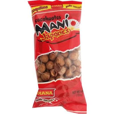 Prodiana Japanese Peanuts 4.6 oz - Mani Japones (Pack of 12)