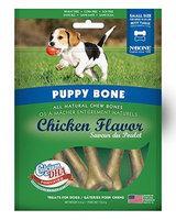 N-Bone Puppy Bone All Natural Chew Bones - Chicken Flavor: Small - 5