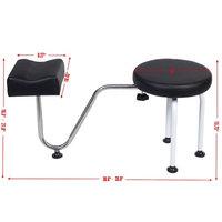 Pedicure Station Chair Manicure Reflexology Spa Salon Equipment w/ Foot Rest
