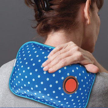 Global Tv Concepts Ltd Rechargeable Hot Water Bottle - Great Aid For Muscle Pain - Heats In Minutes