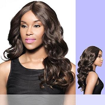 Foxy Lady - H/B DAVITA - Human Hair Blend Lace Part Wig in JET BLACK