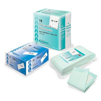 Disposable Underpads Case of 150 [150]