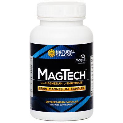 Natural Stacks - MagTech - 90 Vegetarian Capsules