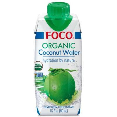 FOCO Organic Coconut Water 330ml