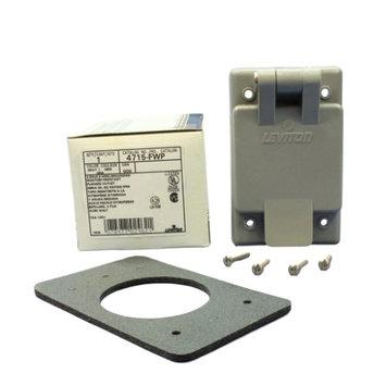 Leviton L4715-FWP Weatherproof Flanged Locking ReceptacleOutlet 15A 125V L5-15