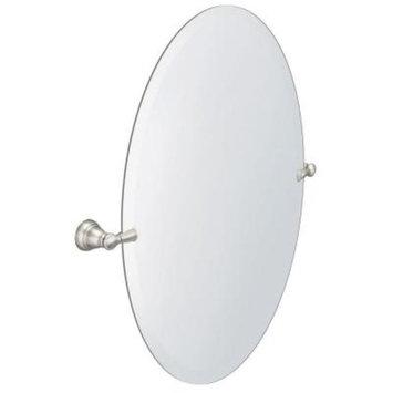 MOEN Banbury 26 in. x 23 in. Frameless Pivoting Wall Mirror in Brushed Nickel