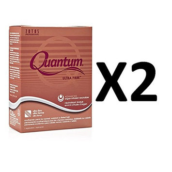 [ VALUE PACK OF 2] ZOTOS PERM QUANTUM ULTRA FIRM ADVANCED ARGAN-INFUSED NEUTRALIZER (ULTRA FIRM)): Beauty