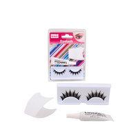 Alltopbargains Eyelash Lashes Set Applicatior Waterproof Glue 4G False Extensions Kit Makeup!