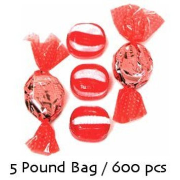 Golightly CINNAMON Hard Candy, 5 lb, Sugar Free, Individually wrapped (about 600 pcs)