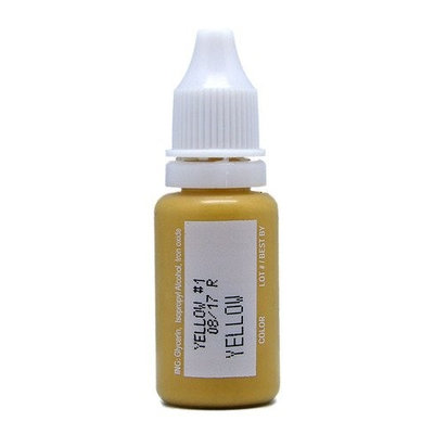 BioTouch Permanent Makeup MicroPigment Yellow Pigment color [Misc.]