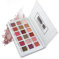 Matte Eyeshadow Palette Hosamtel Fashion 18 Colors Luxury Golden Matte Nude Eye Shadow Palettes Eye Shadow Makeup Set