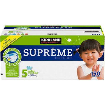 Kirkland Signature Supreme Diapers Size 5