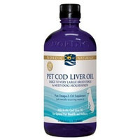 Pet Cod Liver Oil for Cats and Small Breed Dogs 2 Ounces