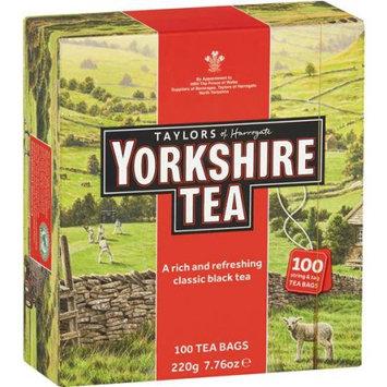 Brand Of Britain Llc Taylors of Harrogate Yorkshire Tea, 7.76 oz, 100 pack, (Pack of 4)