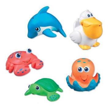 Munchkin 5 Sea Squirts Baby Bath Toys