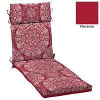 Arden Companies Better Homes and Gardens Outdoor Patio Chaise Cushion, Soleil Medallion