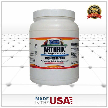 Kala Health Arthrix 360 Tablets. This Is a Powerful Chewable Joint Support Supplement. All ingredients (MSM, Glucosamine, Chondroitin, CMO, Ester C and Minerals) Are Sourced and Made in the USA.