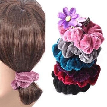 Ecurson 4 Pcs Women Elastic Accessories Hair Scrunchie Ponytail Holder Scrunchy Hairband