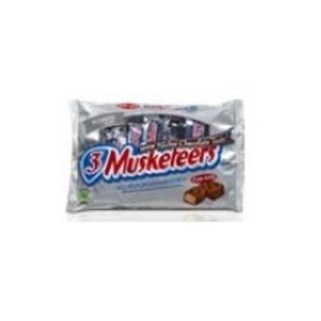 3 MUSKETEERS Chocolate Bites Size Candy Bars 2.83-Ounce Bag 12-Count Box [Bites - Original]