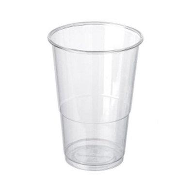 Packnwood 210GPLA280 PLA Cornstarch Compostable Cups - 10 oz
