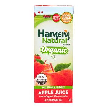 Coca Cola Hansen's Organic Apple Juice, 6.75 Fl Oz (Case of 32)