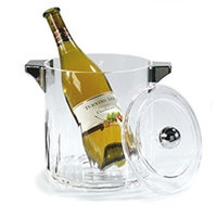 Carlisle IG24507 Ice Bucket with Handles and Lid, Diamond-Cut Acrylic, 4.5-qt. Capacity, 7.11