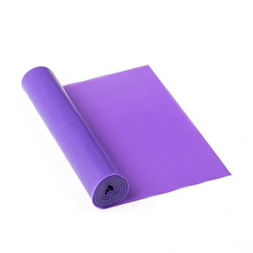 ROSENICE 1.5M Fitness Stretch Bands Yoga Resistance Band for Exercise Training (Purple)