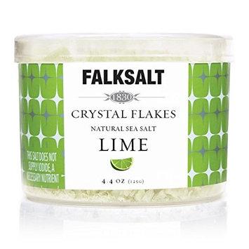 FALKSALT Lime Natural Sea Salt (Flakes) 4.4 oz
