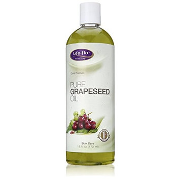 LifeFlo Coldpressed Grapeseed Oil, Pure, 16 Ounce