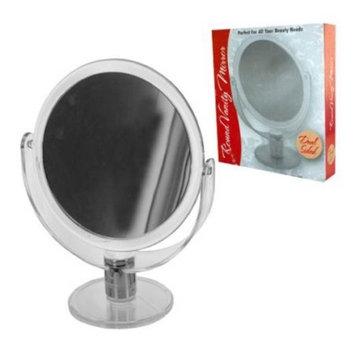Round Stand Up Vanity Mirror - Set of 4