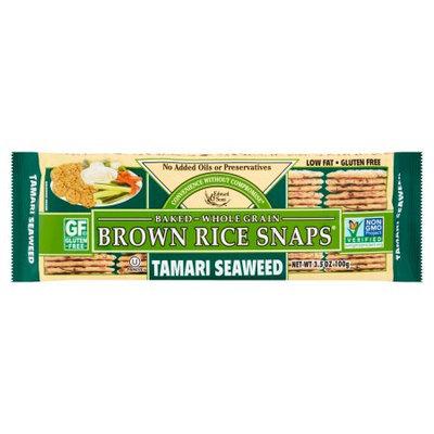 Edward & Sons Trading Co., Inc. Edward; Sons, Ricesnap Tamari Seaweed, 3.5 Oz (Pack Of 12)