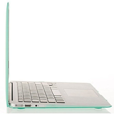 MOSISO Ultra Slim Plastic Hard Shell Snap On Case Cover for MacBook Air 13 Inch (A1466 & A1369), Mint Green