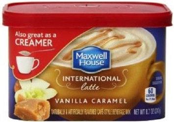 Maxwell House International Cafe Vanilla Caramel Style Beverage Mix