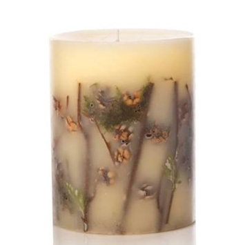 FOREST Rosy Rings Small 5.5 Inch 120 Hour Pillar Botanical Scented Candle