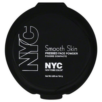 York Color Face Powder, Pressed, Smooth Skin, Naturally Beige 702A 0.33 Oz (9.4 G) by N.Y.C.