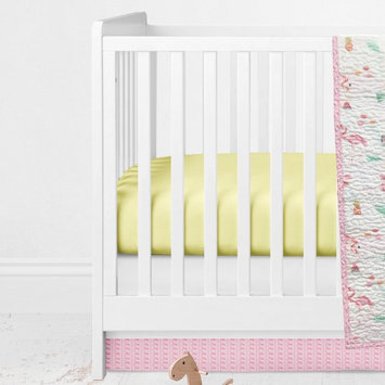 Aloha Crib Sheet by Oliver Gal Pink