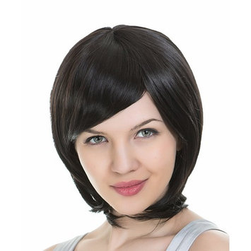 EDENKISS Women's Premium Fashion Hair Replacement Wig with Super Breathable Wig Cap (Dark Red-MC036)