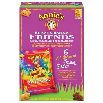 Annie's Homegrown Bunny Graham Friends (Honey, Chocolate & Chocolate Chip), 6...