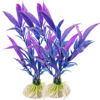 Aquarium Emulational Blue Purple Plants 5.9