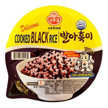 Ottogi COOKED BLACK RICE